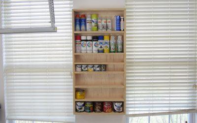 How to Make a Finishing Supply Shelf