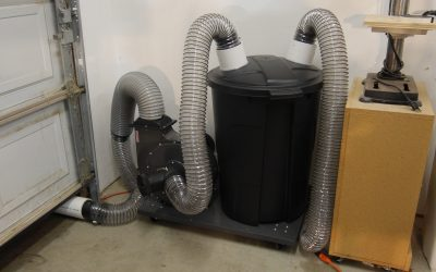 How to Make a 2 Stage Dust Collector