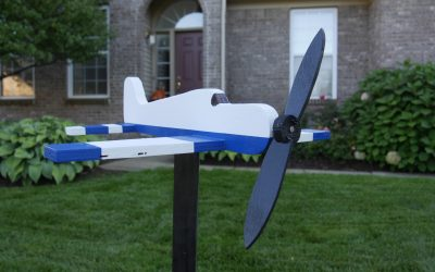 How to Make an Airplane Whirligig