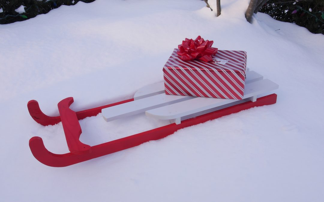 How to Make a Vintage Sled