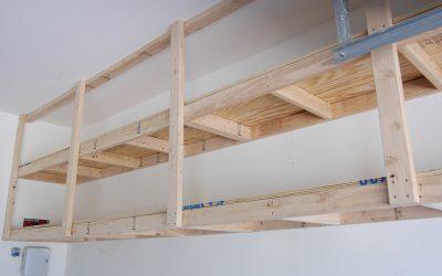 How to Make Garage Shelves