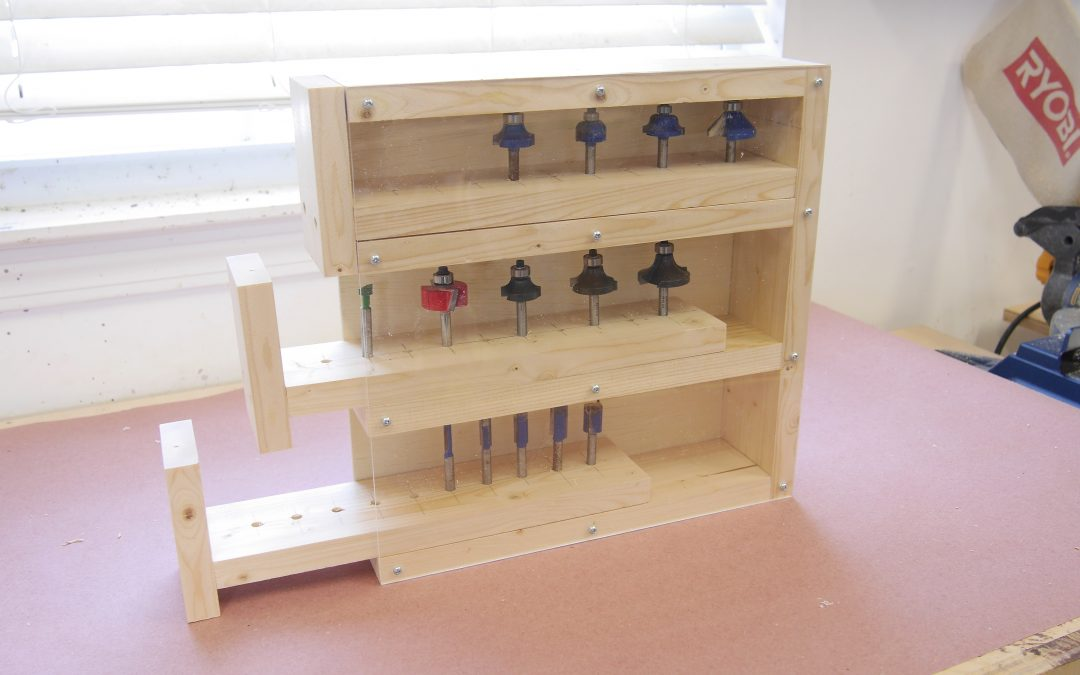 How to Make a Router Bit Case