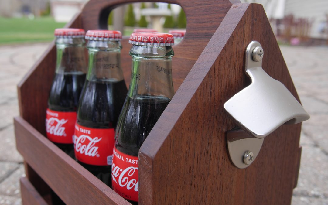 How to Make a Drink Caddy Holder