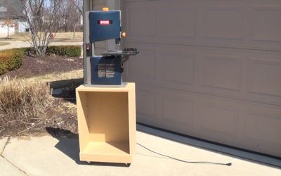 How to Make a Bandsaw Cabinet
