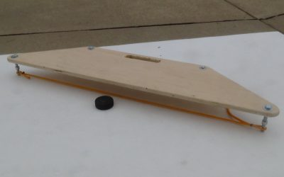 How to Make a Hockey Puck Rebounder
