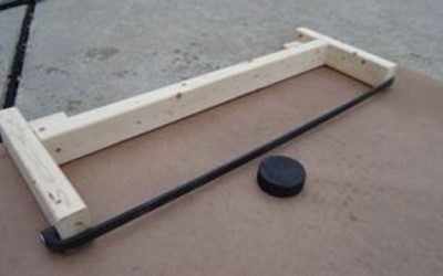 How to Make a Hockey Rebounder (Old)