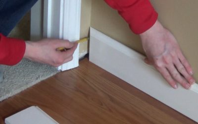 How I Installed Molding