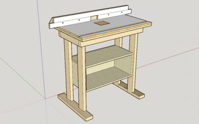 Designing a Router Table