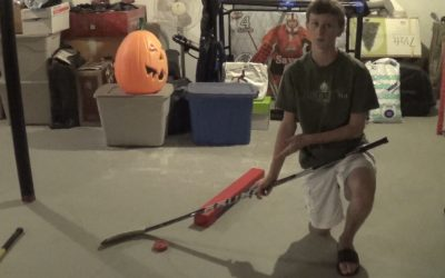 How to Make a Stick Handling Trainer