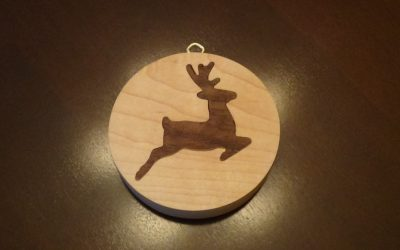 How to Make a X-Mas Ornament w/ Inlay
