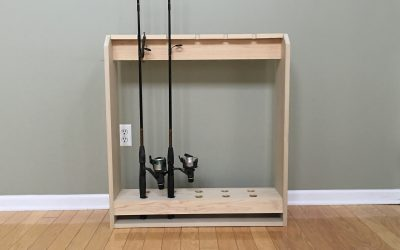 How to Make a Fishing Pole Holder