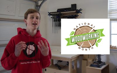 Celebrate National Woodworking Month