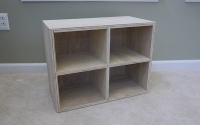 How to Make a Wooden Cubby