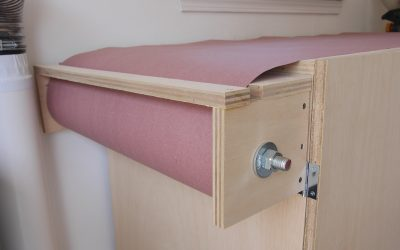 How to Make a Paper Workbench Cover