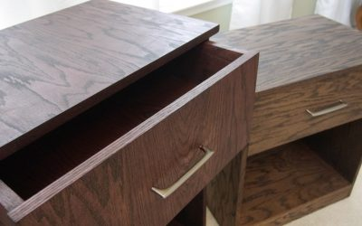 How to Make a Pair of Nightstands
