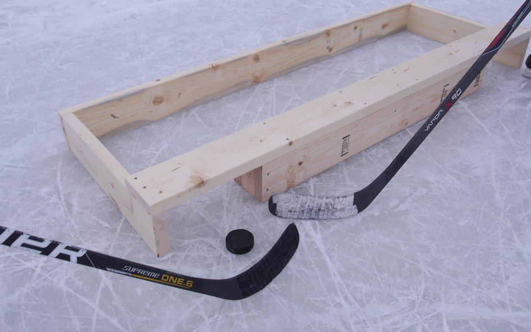 How to Make a Pond Hockey Goal