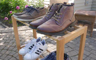 How to Make a Shoe Rack